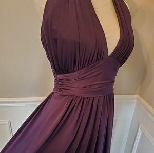NWTSAMPLE SALE! Maracaine Jersey Floor Length Gown